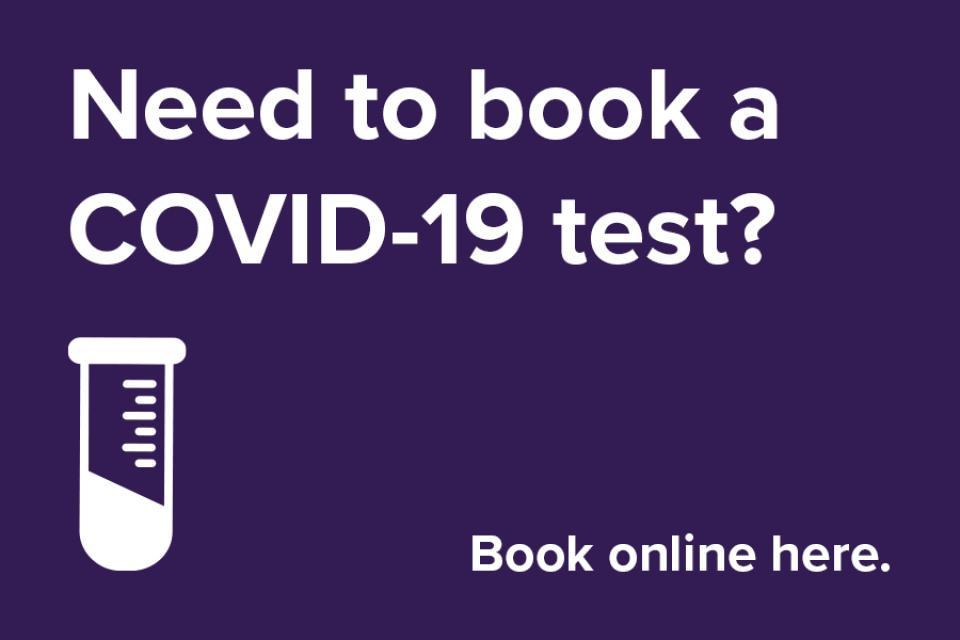 book a covid-19 test