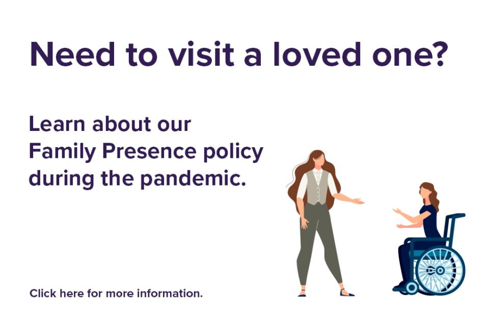 homepage image of family presence