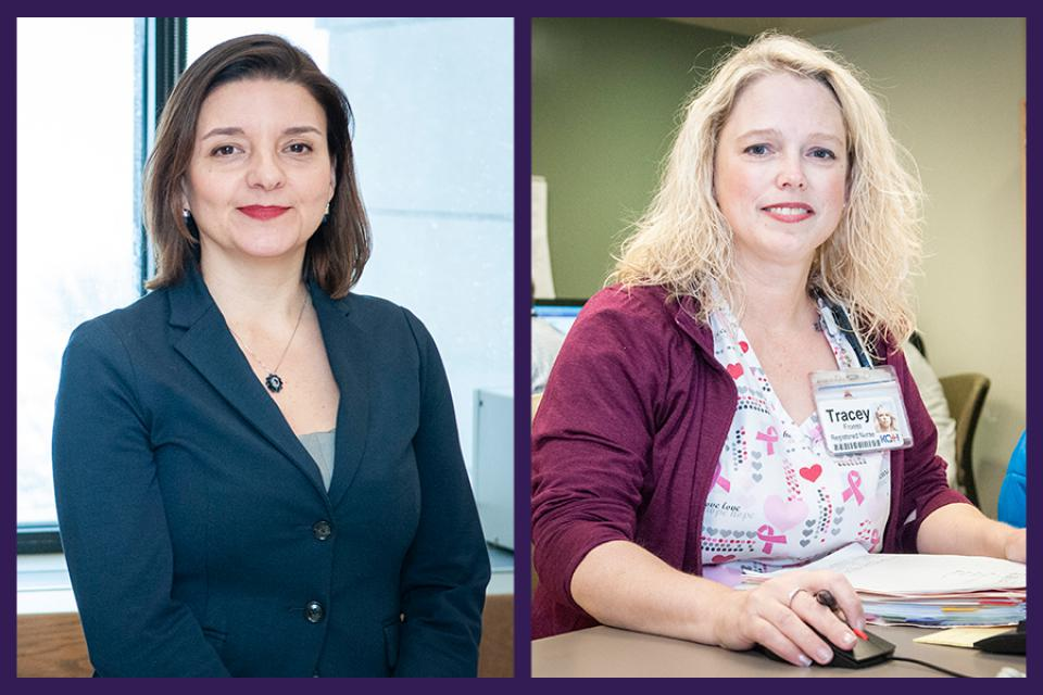 Dr. Maria del Pilar Vélez and nurse Tracey Froess have been named the winners of the 2018 Exceptional Healer Award