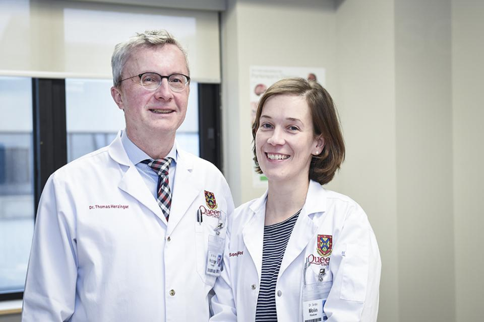 Dr. Thomas Herzinger and Dr. Sonja Molin recently joined KHSC after relocating from Munich, Germany.