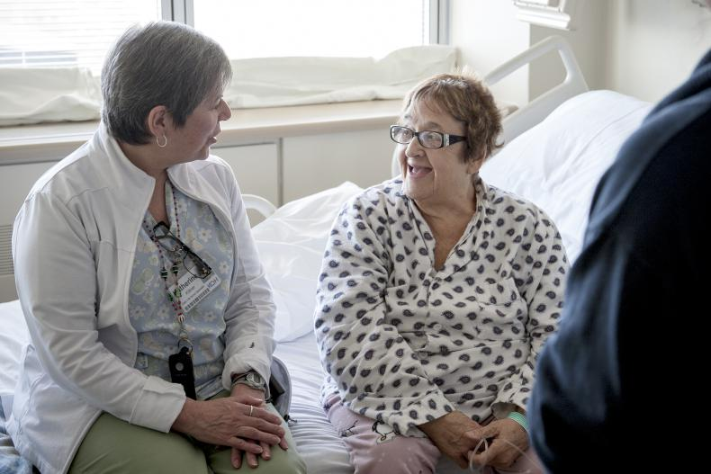 Patient Car Navigator Katherine Kittner works with our patients and families for better overall outcomes.