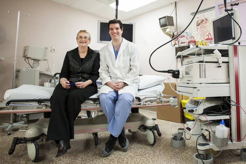 KGH team performs a North American first in endoscopy