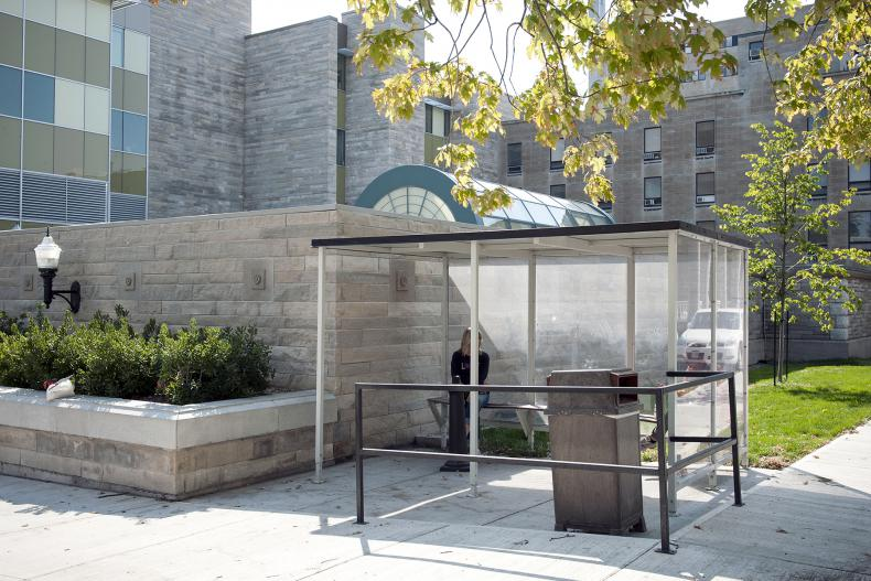 Smoking shelters to be part of new KGH smoking policy