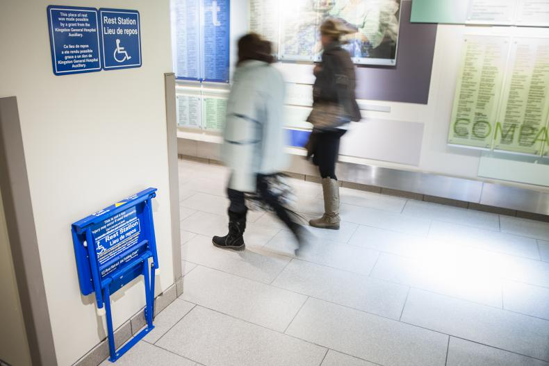 KGH Is The First Canadian Hospital To Purchase And Install 12 Resting Stations Assist People