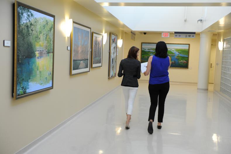 Interprofessional staff have been busy putting the final touches on the Intensive Transitional Treatment Program (ITTP) that will run out of the bright and welcoming space on Burr 4.
