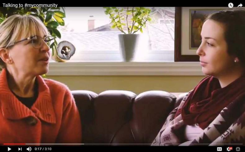 Lori Weber and her daughter Stacey talk about advance care planning in new video