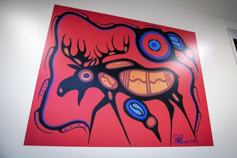 Indigenous art work