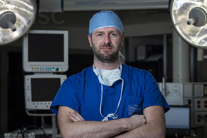 Cardiac Surgeon Dr. Gianluigi Bisleri recently joined KHSC after relocating from Italy
