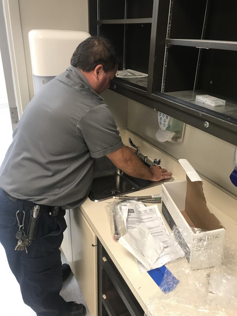 installing new plumbing