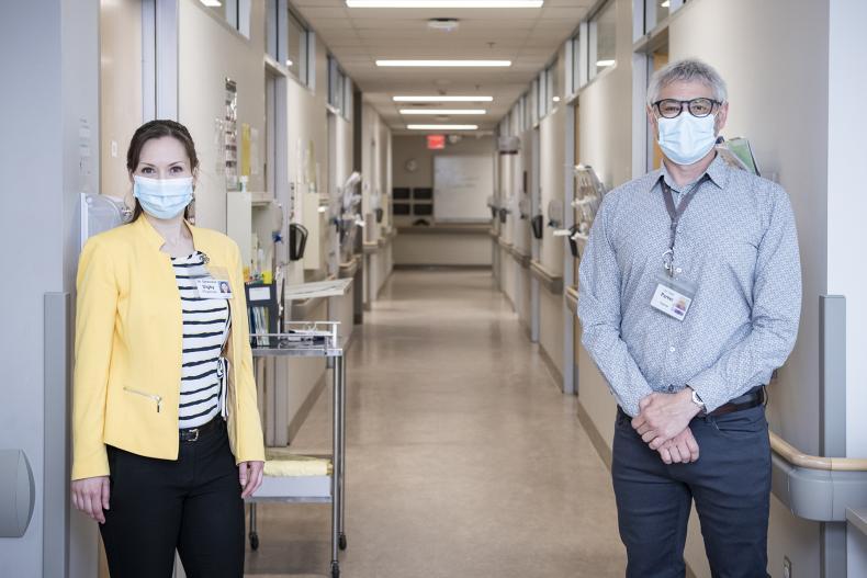 Dr. Digby, Dr. Parker, KHSC, Lung Diagnostic