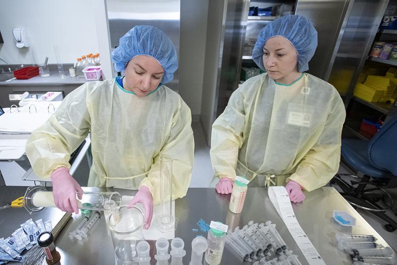 milk lab technicians