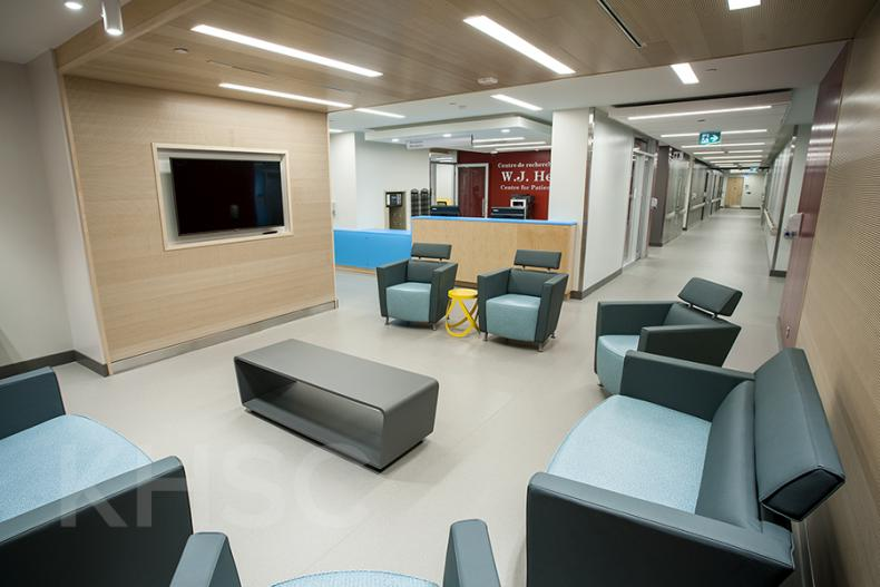 The Centre is a 10,000 square-foot space bringing together patients and researchers