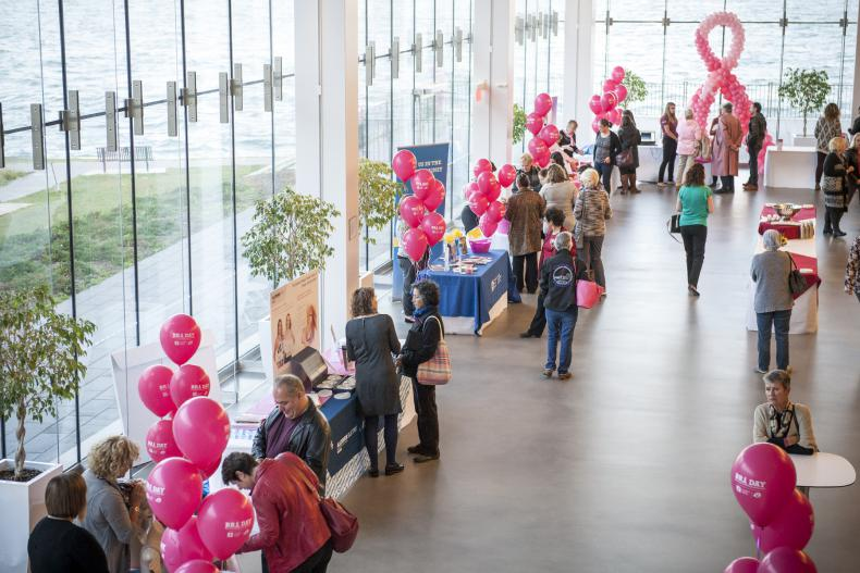 Exhibitor area for BRA Day 2017