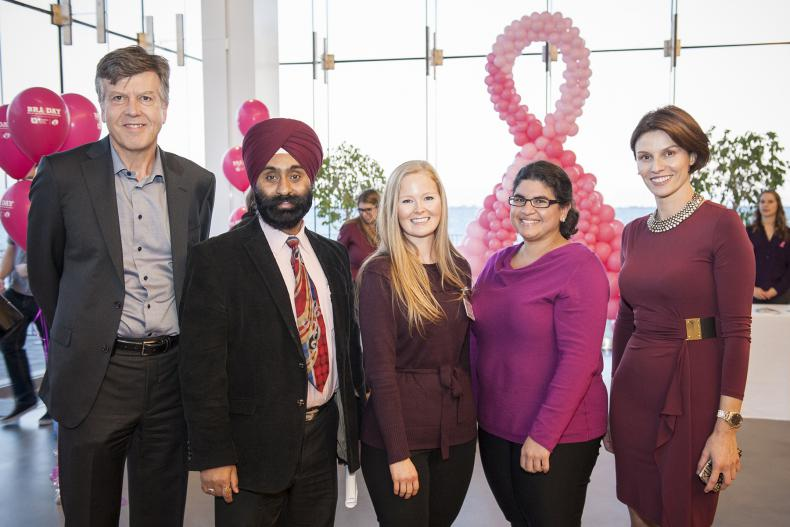 """On the evening of Tuesday, October 17 more than 170 people gathered at the Isabel Bader Centre for the Performing Arts for BRA (Breast Reconstruction Awareness) Day, a special event geared to educating and informing women about their options around breast cancer treatment.  """"We wanted to close the loop on breast cancer and make reconstruction an integral part of the conversation,"""" says Dr. Glykeria Martou, a physician with the Cancer Centre of Southeastern Ontario and event organizer. """"We want patients to f"""