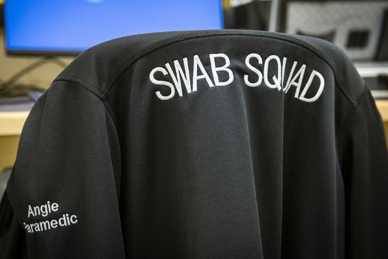 The swab squad