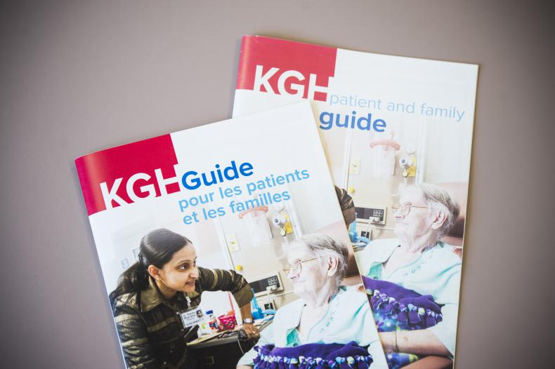 As part of our efforts to become more bilingual we recently translated our Patient Guide Book and sections of our website into French
