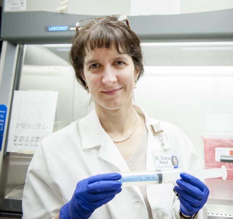 Dr. Elaine Petrof