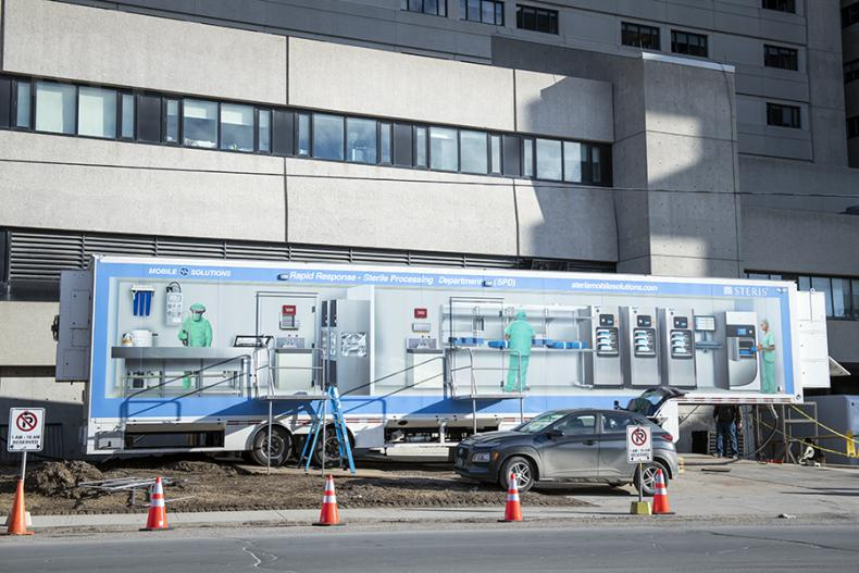 mobile sterilization unit