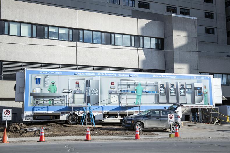 mobile sterilization unit