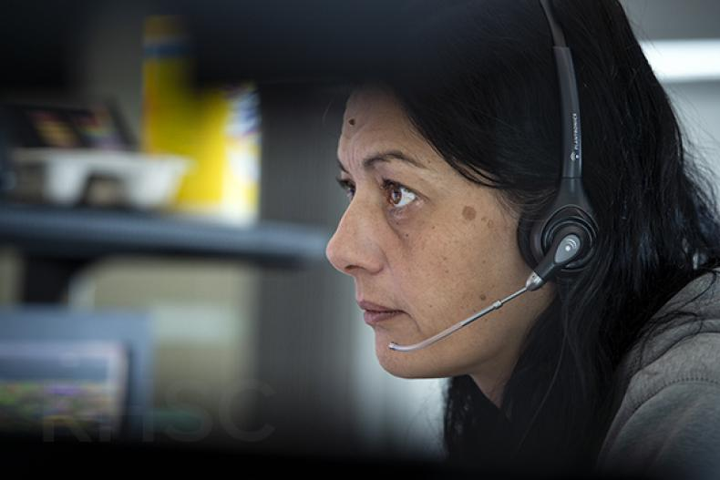ACO listening to call