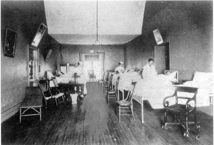 Public ward circa 1898