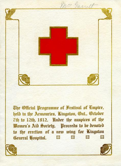 A copy of the Festival of Empire brochure from 1912