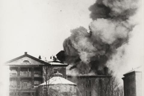 Watkins wing on fire 1897