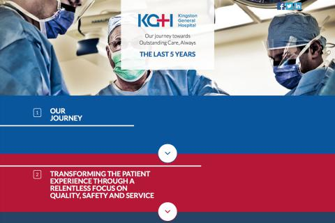 Be sure to get the full story and check out the KGH journey online at kghConnect.ca/kgh-journey .
