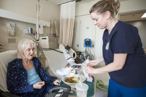 Patient satisfaction with Steamplicity food system soars