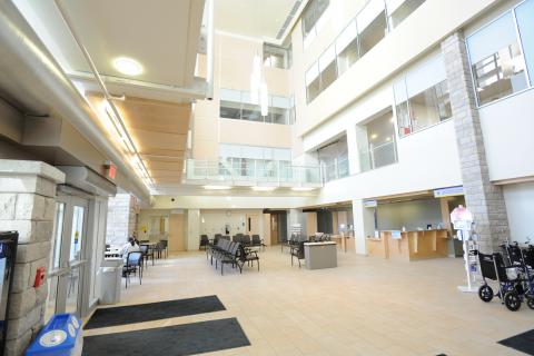 The Burr Lobby space is changing to support an increase in patient flow