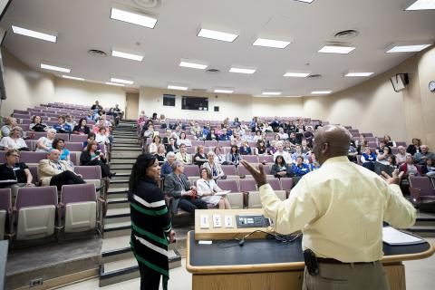 The new online calendar will help you save the date for interprofessional learning events, such as this presentation by our friends from the Georgia Regents Medical Centre in 2013