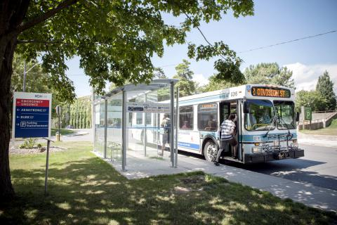 Climb on board: More buses than ever will soon be stopping in front of KGH