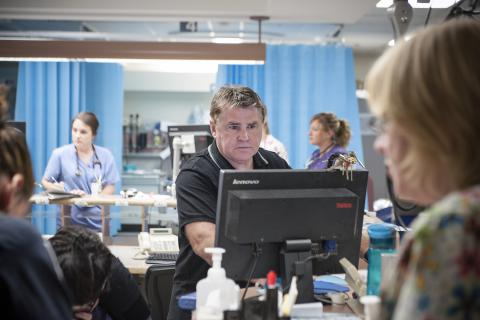 Dr. Gord Jones, Emergency Program Medical Director, is leading an improvement cycle team that's studying some of the root causes of gridlock in the emergency department.