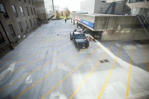 KGH Emergency Department ramp renovations are complete and access to the deparmtent via King St. West restored.
