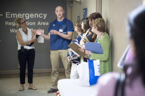 Nurse Practitioner Danny Quann talks about the patient flow improvements and challenges in our Emergency Department.