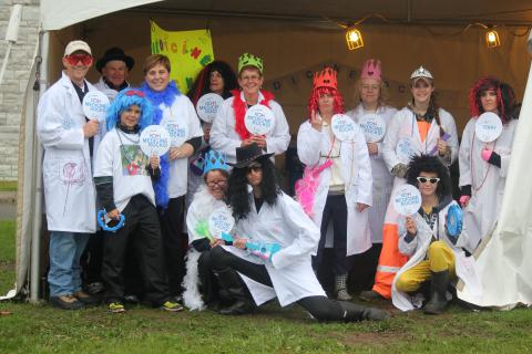 KGH's Medicine Rocks team was our hospital's biggest fundraiser at the relay last year, bringing in almost $7,000.