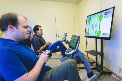 Researchers demonstrate the exergaming technology