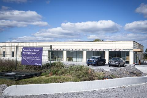 The new Breast Imaging Kingston Centre is planned for a staged opening beginning January 2022 and is expected to see an average of 120 patients a day