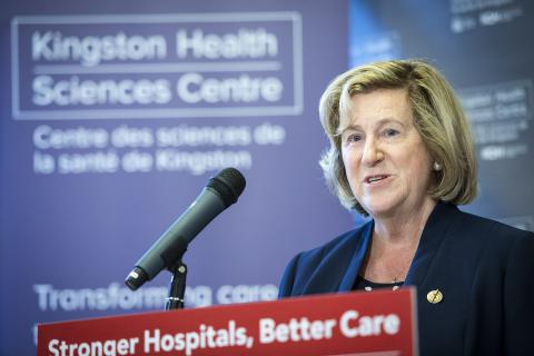 Minister of Health and Long-Term Care Dr. Helena Jaczek