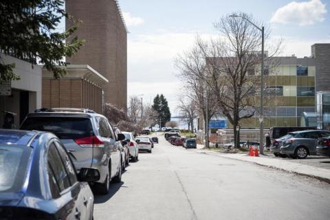 George Street near the Kingston General Hospital site