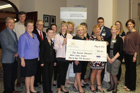 The Rose of Hope organizing committee has made a $500,000 pledge to support breast screening at KHSC