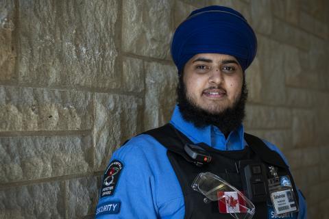 KHSC Security Guard Satwinder Singh