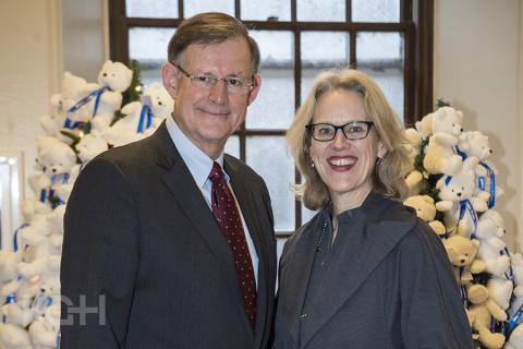 Scott Carson, Chair, KGH Board of Directors and Leslee Thompson, President and Chief Executive Officer