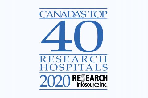 Top 40 Research Hospitals 2020 Logo