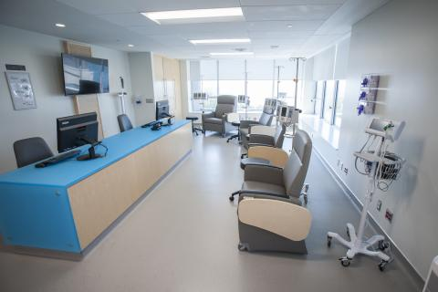 Infusion chairs - Clinical Investigation Unit