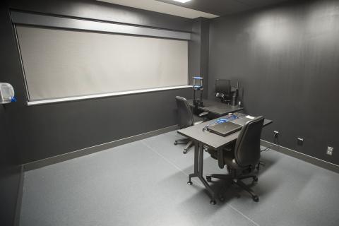 Eyetracker lab