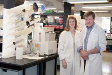 Drs. Paula James and David Lillicrap
