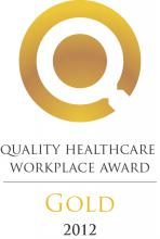 OHA Quality Healthcare Workplace Award - Gold 2012
