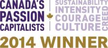2014 Canada's Passion Capitalists winner's logo