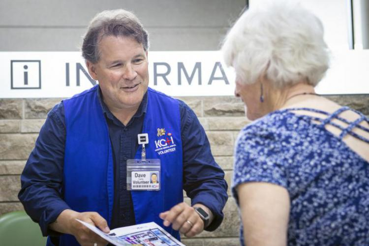 We couldn't do what we do without the help of our volunteers. They play an invaluable role at both hospital sites connecting with patients, supporting family members, complimenting the high quality care offered by our staff, and helping to raise funds to help purchase hospital equipment and patient comfort items. This year we brought volunteers from our HDH and KGH sites together to streamline and standardize our volunteer processes and experiences. Across both sites this year, 1000 volunteers contributed 8